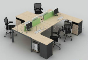 New Design Modern Office Workstation Factory Outlets Office Desk (SZ-WS119) pictures & photos