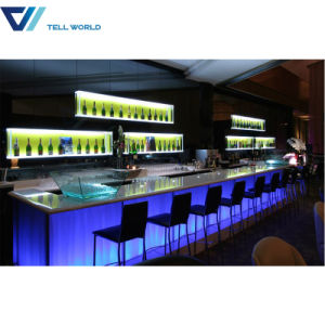 Commercial U Shape Europen Salad Bar Counter Design pictures & photos