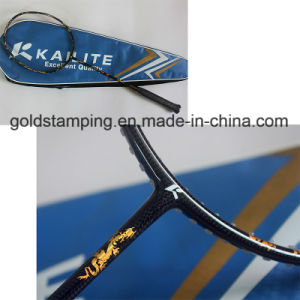 High Quality Hot Stamping Foil for Badminton Racket pictures & photos