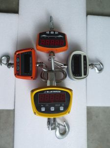 LCD Digital Crane Scales Ce Certificate 2000kg Rotated Hook pictures & photos
