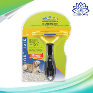 Dog Brush Pet Grooming Comb Hair Deshedding Tool for Dogs Cats pictures & photos