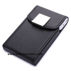Promotion Business PU Leather Name Card Cases (BK21553) pictures & photos