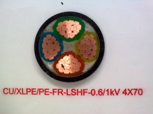 XLPE Insulated Power Cable (0.6/1kV CU/XLPE/PE FR) pictures & photos
