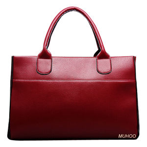 Fashion Ladies Leather Bag for Business (MH-6055) pictures & photos