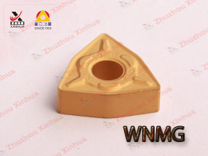 Manufacturing Tungsten Carbide Inserts for CNC Indexable Cutting Tools Wnmg pictures & photos