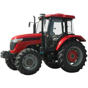 85HP 4WD Hot Sale Tractor with Dual Clutch and F8+R4 Gear Box