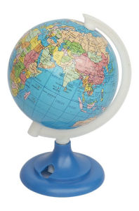 Dia 8.5cm Paper Globe (J305)