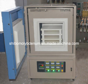 1700 Electric Bench Top Muffle Furnace with Programmable Controller pictures & photos