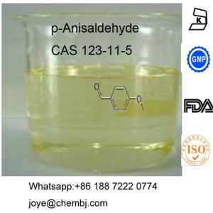High Quality Factory Sale P-Anisaldehyde CAS 123-11-5 Flavors and Fragrances pictures & photos