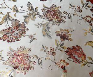 Silk & Rayon Jacquard Silk Sofa Fabric (YH10-8)