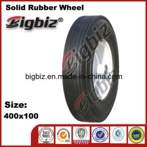 Hot Sale Horse Carriage Solid Hand Trolley 400mm Rubber Wheel pictures & photos