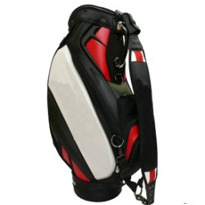 "PU 10.5"" Staff Golf Professional Club Bag pictures & photos"