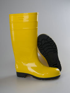 Wellington Safety PVC Rainboots, Safetyboots for Men Rain Boot