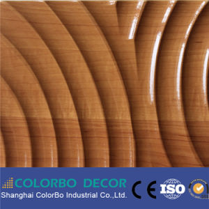 MDF Material Decorative Soundproof Wall Panel 3D pictures & photos