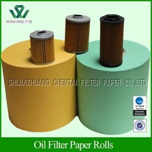 Phneolic Cured Corrugated&Panel Fuel Filtration Paper/Diesel Filter