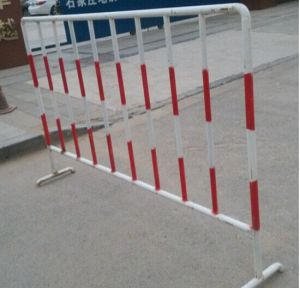 Powder Coated Temporary Barricade S344