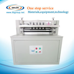 Semi-Automatic Slitting Machine for Electrodes of Cylinder Battery (GN-CSE-300)) pictures & photos