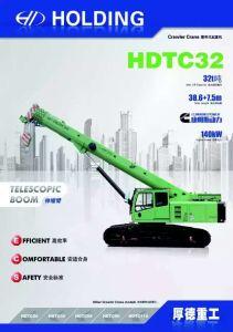 32ton Telescopic Boom Crawler Crane