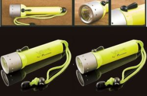 30 Meters Magnetic Switch Control Diving Flashlight pictures & photos