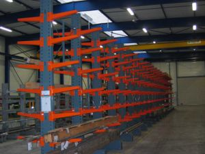 Heavy Duty Long Raw Material Cantilever Racking