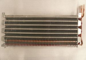 Copper Tube Fin Type No Forst Freezer Evaporator