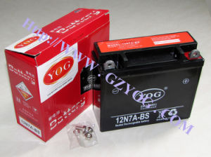 Yog Power Supply Motorcycle Dry Rechargeable Battery 12n7a BS pictures & photos