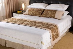 Hotel Textile, Sheets, Pillow Case, Quilt Cover, Cushion and Bed Runner pictures & photos