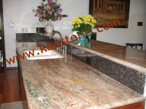 Natural Granite Bathroom Vanities Top for Home pictures & photos