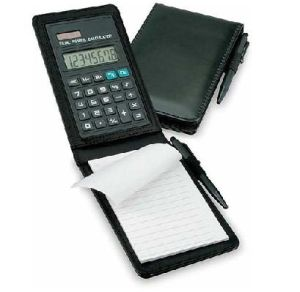 Notebook with Pen Calculator
