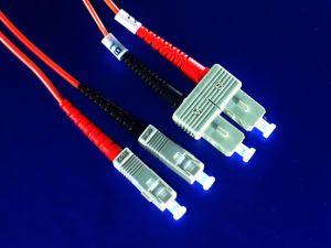 SC MM DX Fiber Optic Patchcord