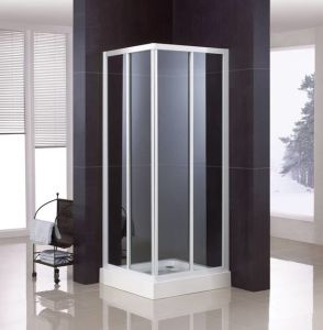 Corner Shower Enclosure with Double-Side Easy Clean Nano Coating