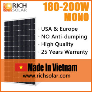 200W Solar Panel Manufacturers Solar Module Solar Power System