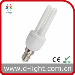 7W 2u Super Mini Compact Fluorescent Bulb