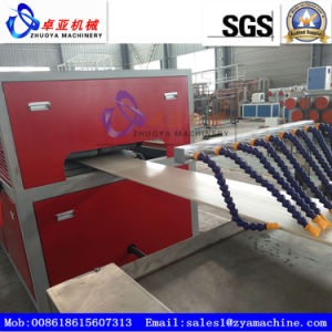 CE Certified Plastc PVC WPC Panel Board Extrusion Machine pictures & photos