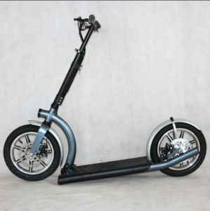 300W Lithium Battery Folded Adult Electric Scooter 1201 pictures & photos