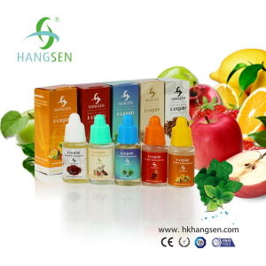 Hot Selling 10ml and 30ml E Liquid From Hangsen with More Than 300 Kinds of Flavors pictures & photos