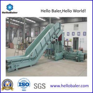 Horizontal Hydraulic Scrap strapping Baling Pressing Machine for Recycling Plant pictures & photos