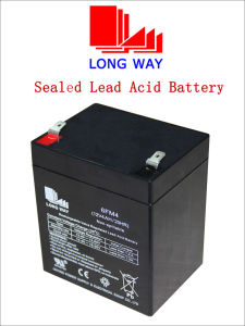 12V4ah Maintenance-Free Toys UPS Lead Acid Battery pictures & photos