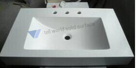 Vitreous China Wash Basin American Standard Artificial Marble Sink Acrylic Wash Basin pictures & photos