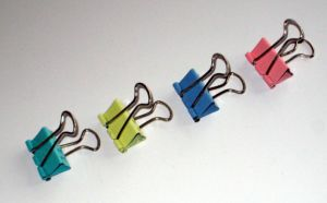 19 Mm(3/4 Inch) Colored Binder Clips (1305) pictures & photos