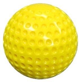 """9"""" Yellow Pitching Machine Balls"""