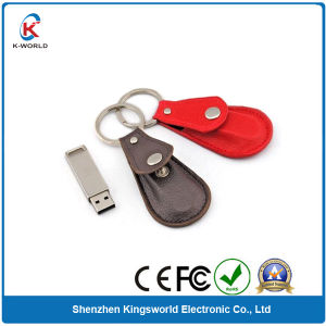 New Shape Leather USB Flash Memory
