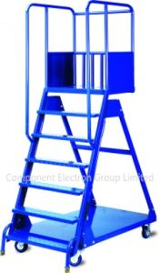 Six Step Ladder Truck, Storage Equipment, Logistic Trolley pictures & photos