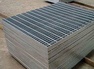 Galvanized Plain/Serrated Steel Grating (MGS-GR005) pictures & photos