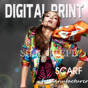 2017 Top Quality Newest Fashion Style Digital Printing Silk Scarf pictures & photos