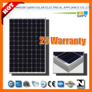 255W 125mono Silicon Solar Module with IEC 61215, IEC 61730 pictures & photos