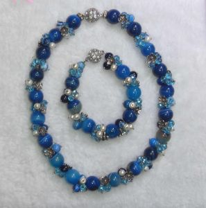 Semi Precious Stone Necklace, Fashion Necklace, Jewelry Sets <Esb01335> pictures & photos