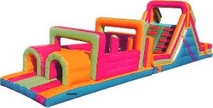 Inflatable Obstacle Course Certificate (LILYTOYS-OB-01JO) pictures & photos