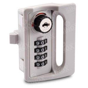 4 Dial Resettable Combination Locker Lock with Decode Function and Indicato pictures & photos