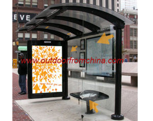 Bus Shelter / Bus Stop / Public Furniture / Outdoor Furniture (SE-009)